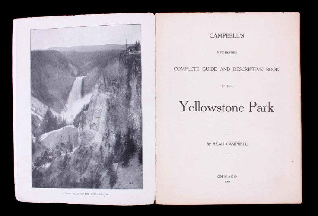 1909 Yellowstone National Park Guide w/ Map 1st Ed - 4