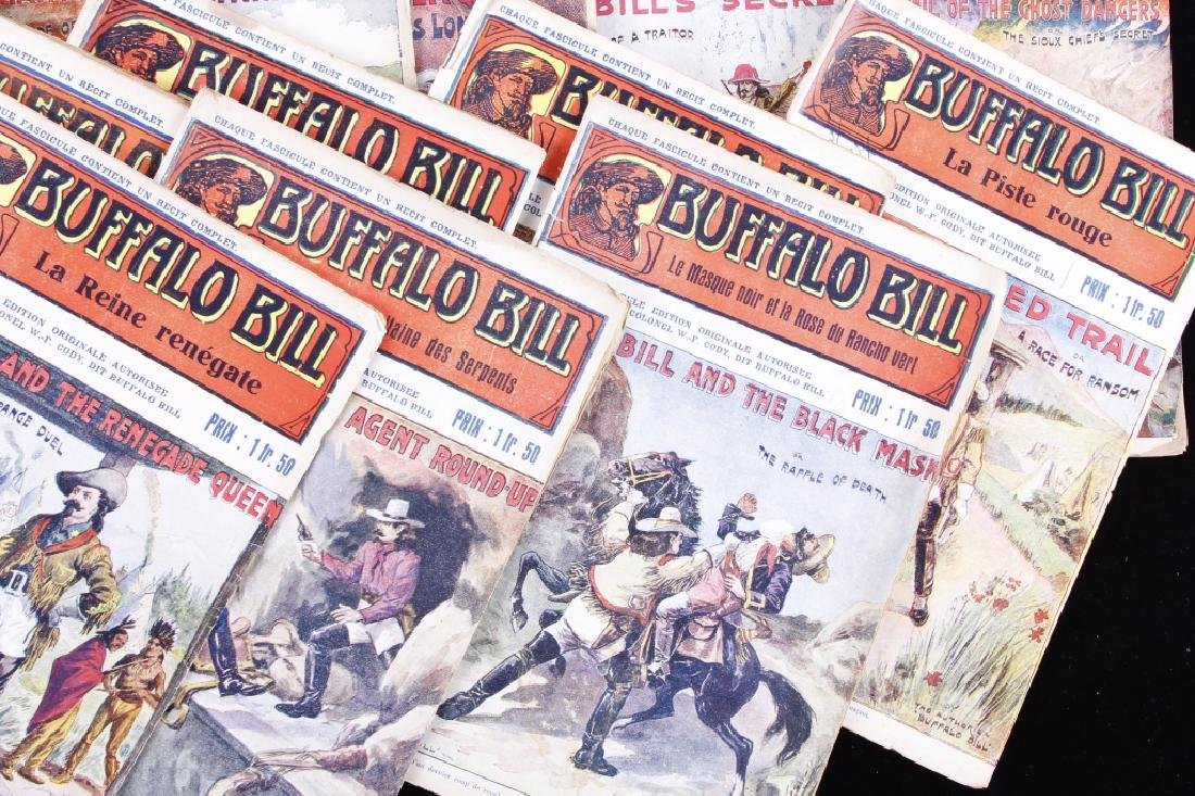 Buffalo Bill Dime Novel's circa 1907-1930's - 3