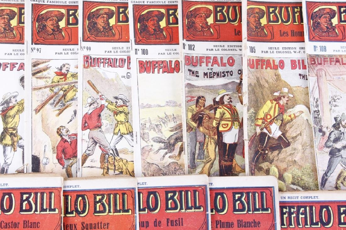 Buffalo Bill Dime Novel's circa 1907-1930's - 8