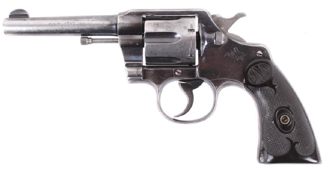 Colt Army Special 32-20 WCF 6-Shot DA/SA Revolver