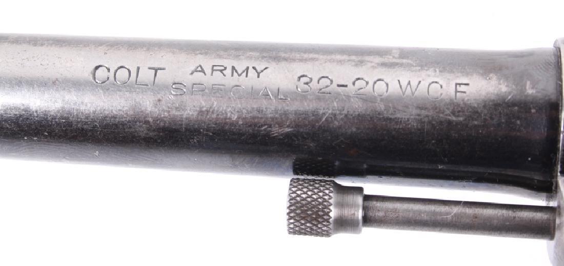 Colt Army Special 32-20 WCF 6-Shot DA/SA Revolver - 5