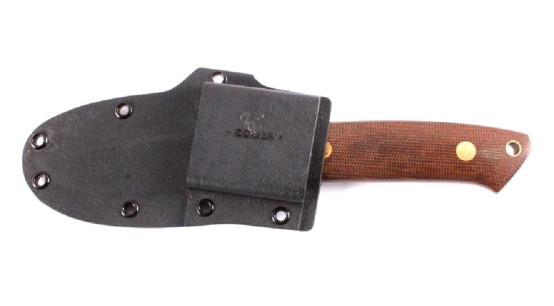 Dozier Arkansas Made Custom Fixed Blade Knife - 10