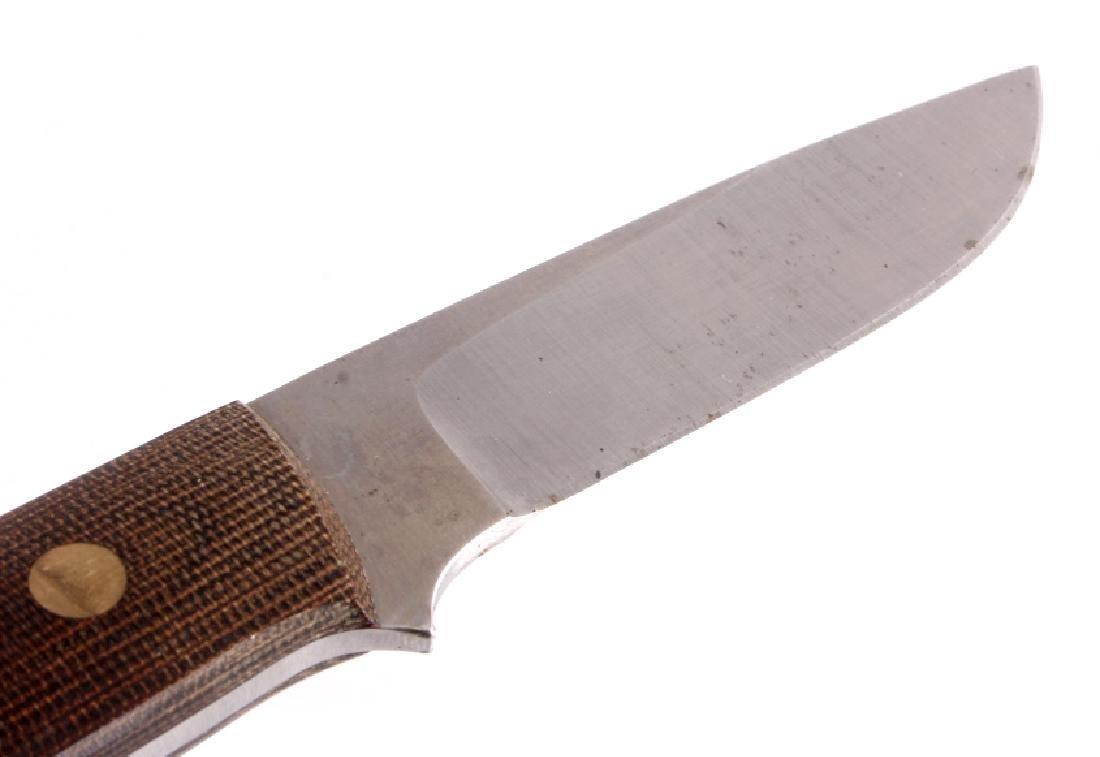 Dozier Arkansas Made Custom Fixed Blade Knife - 2