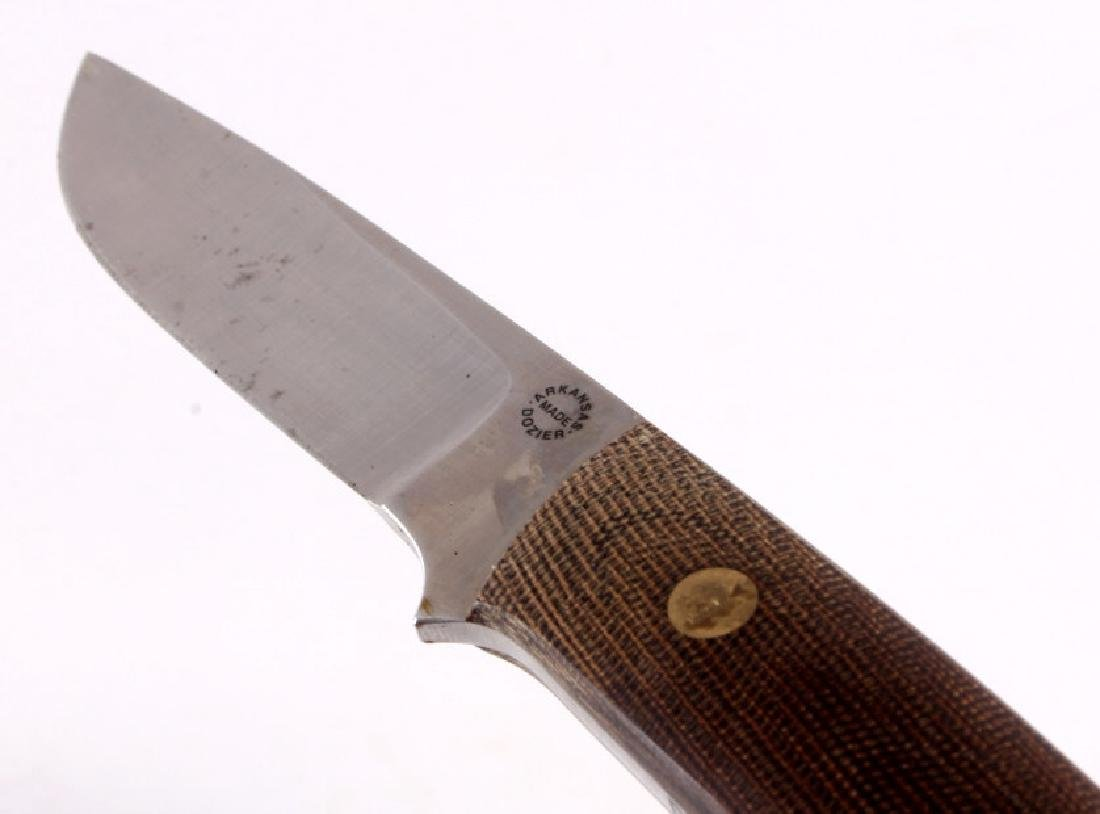 Dozier Arkansas Made Custom Fixed Blade Knife - 3