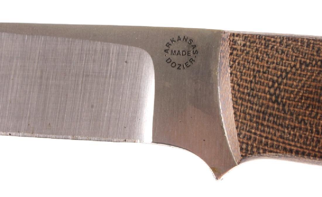 Dozier Arkansas Made Custom Fixed Blade Knife - 4
