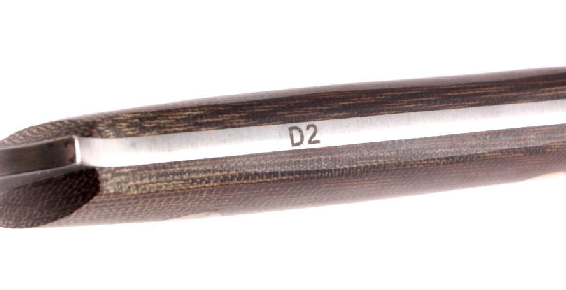 Dozier Arkansas Made Custom Fixed Blade Knife - 7
