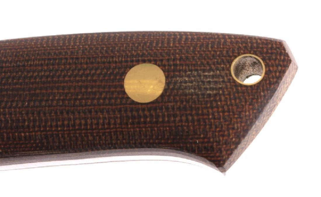 Dozier Arkansas Made Custom Fixed Blade Knife - 8