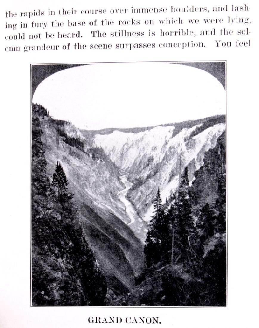 Discovery of Yellowstone Park 1870 N.P. Langford - 10