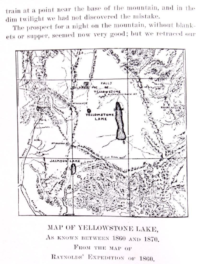 Discovery of Yellowstone Park 1870 N.P. Langford - 14