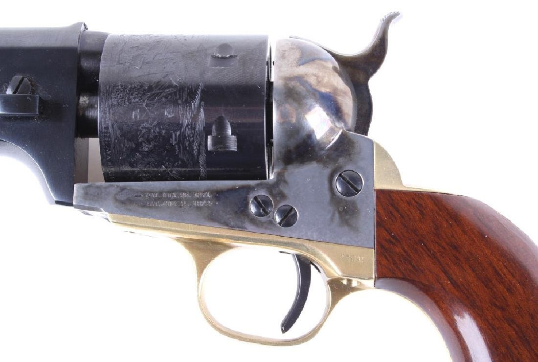 Cimarron 1872 Open Top Navy .38 Cal Revolver - 3