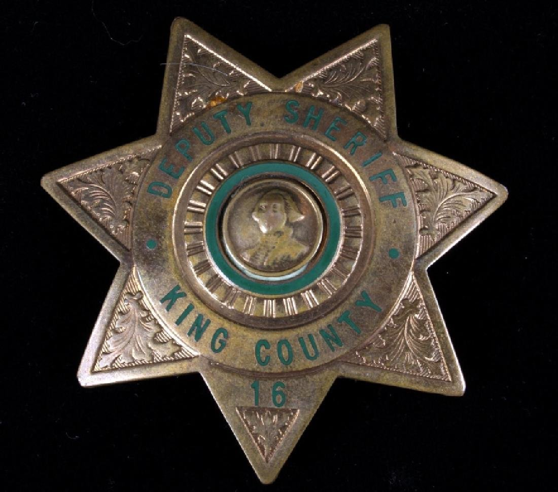 King County, Wa Deputy Sheriff Badges George Cake - 2