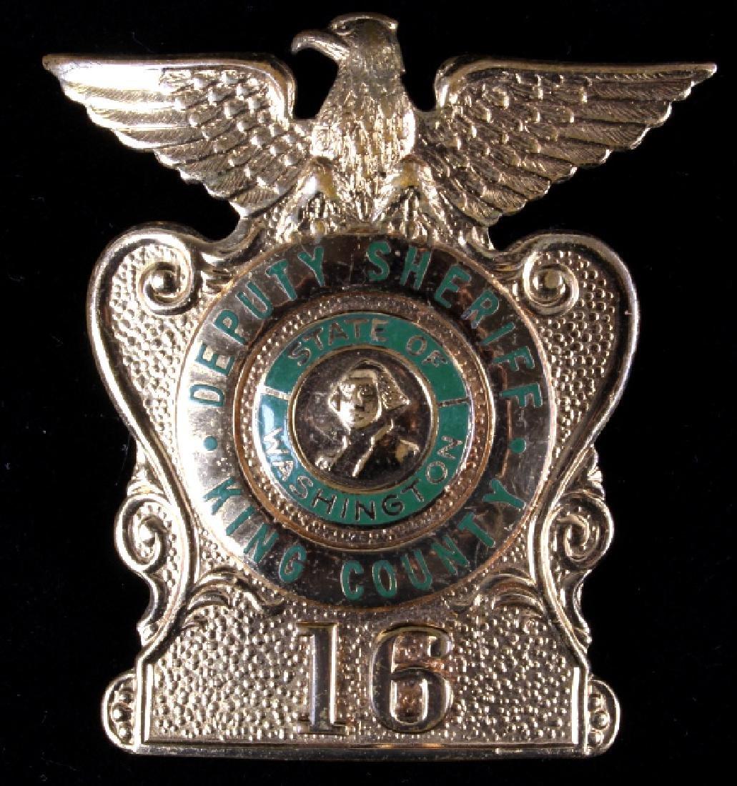 King County, Wa Deputy Sheriff Badges George Cake - 8