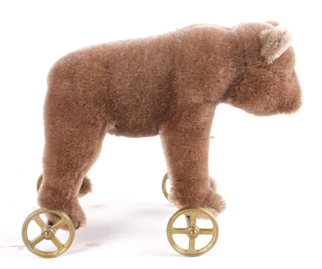 Steiff Bear On Wheels - 3