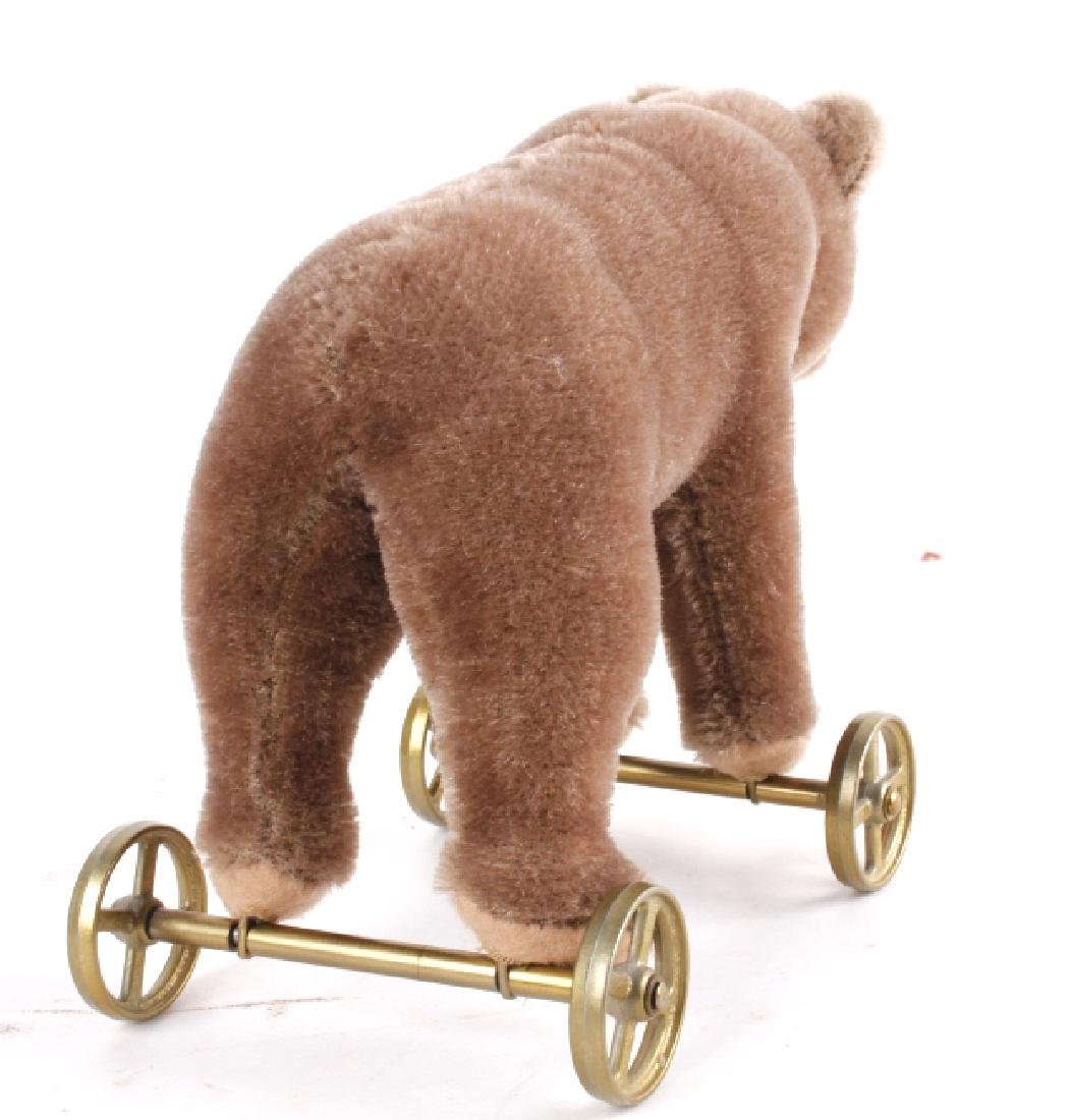 Steiff Bear On Wheels - 4