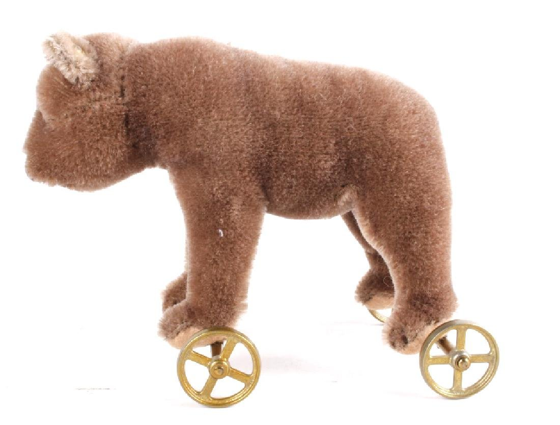 Steiff Bear On Wheels - 5
