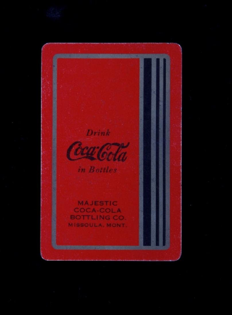 Missoula Coca-Cola Playing Cards Circa 1934 - 2