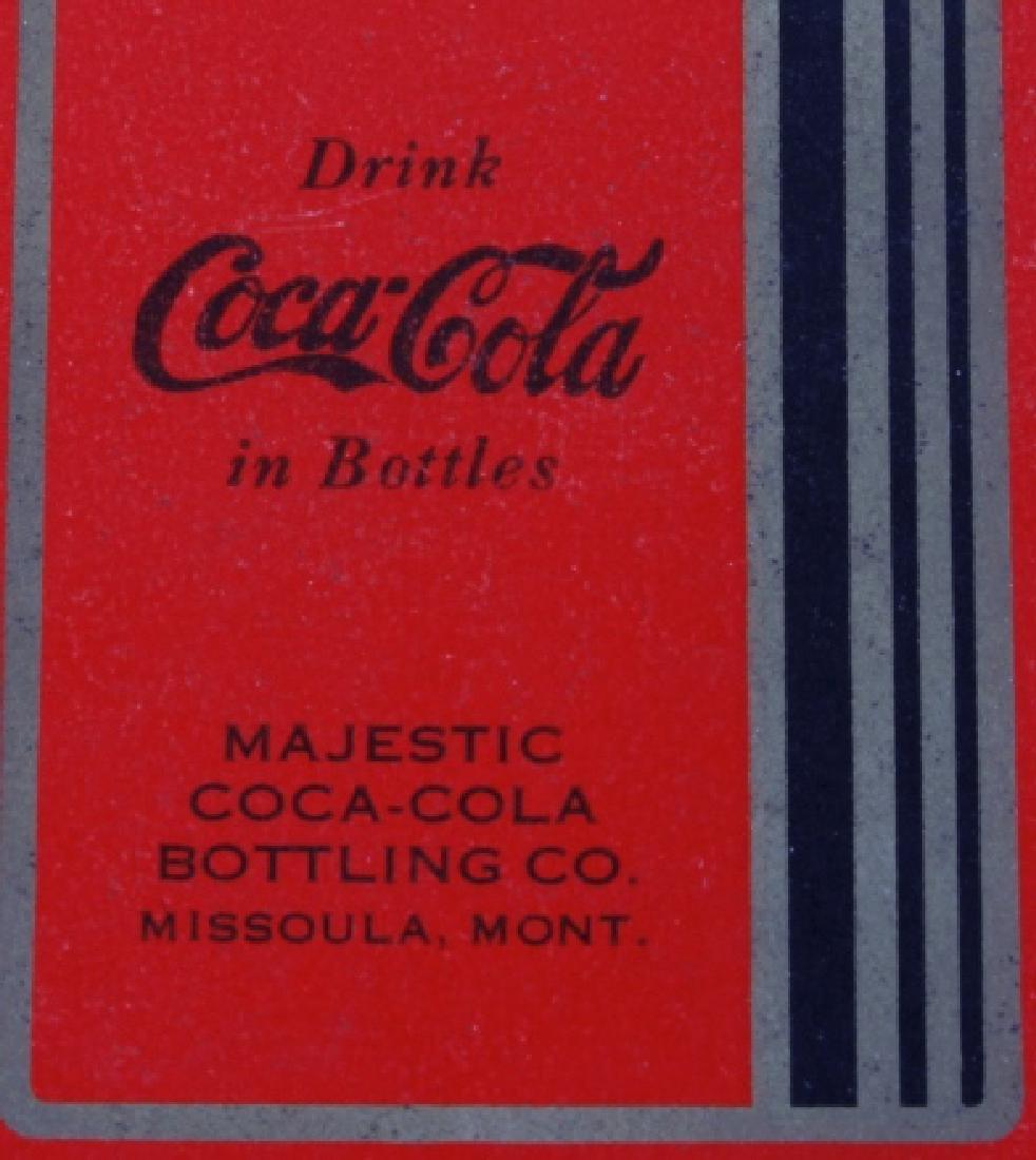 Missoula Coca-Cola Playing Cards Circa 1934 - 3