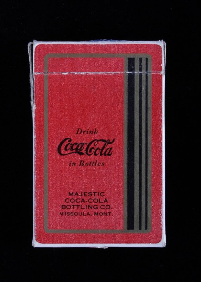 Missoula Coca-Cola Playing Cards Circa 1934 - 4