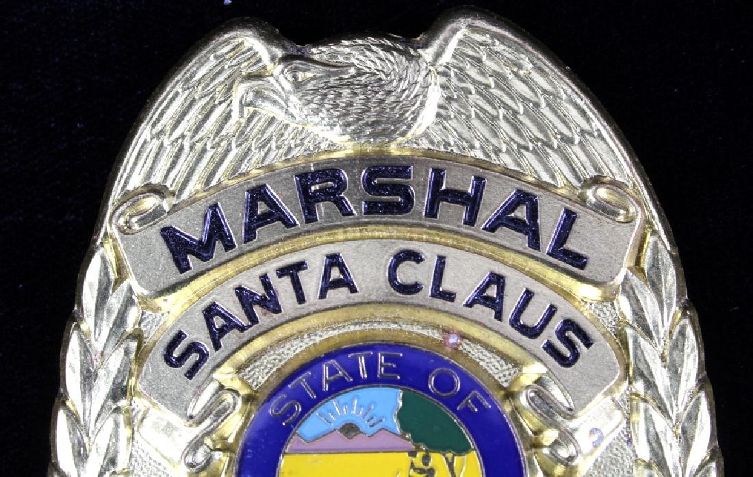 Santa Clause, Indiana Marshal Police Badge - 2