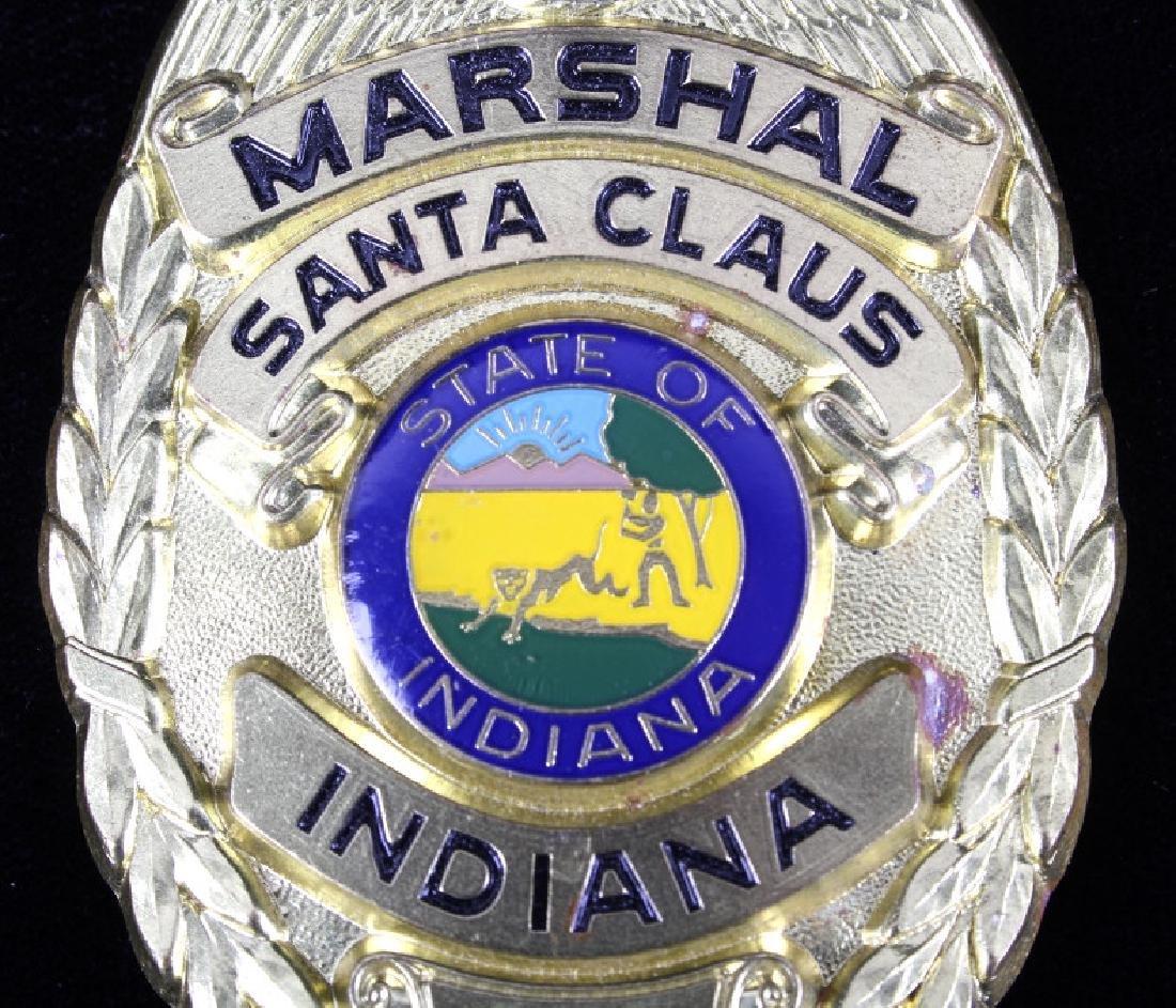 Santa Clause, Indiana Marshal Police Badge - 3