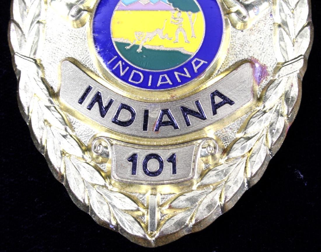 Santa Clause, Indiana Marshal Police Badge - 4
