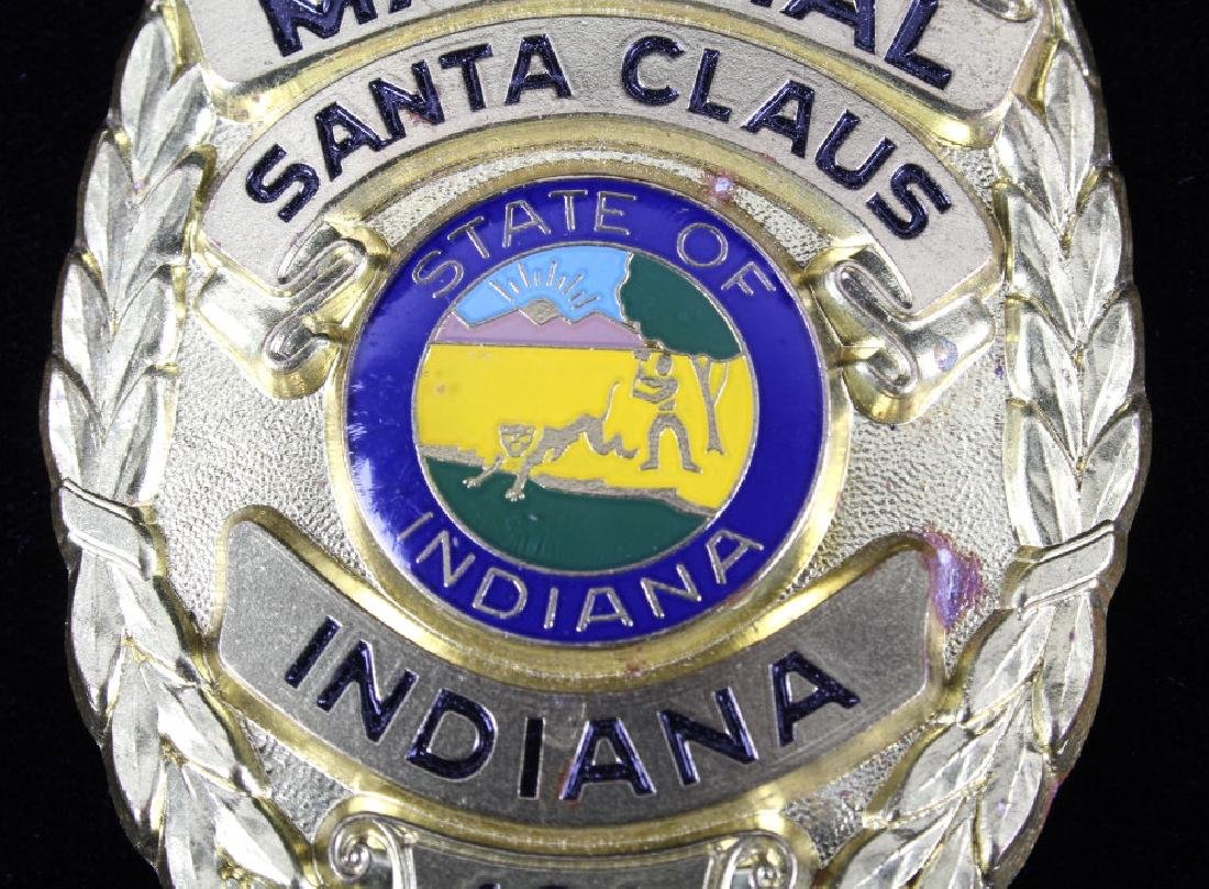 Santa Clause, Indiana Marshal Police Badge - 5