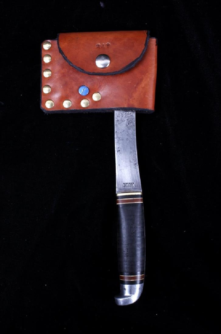 Pair of Hatchets With Leather Sheaths - 7