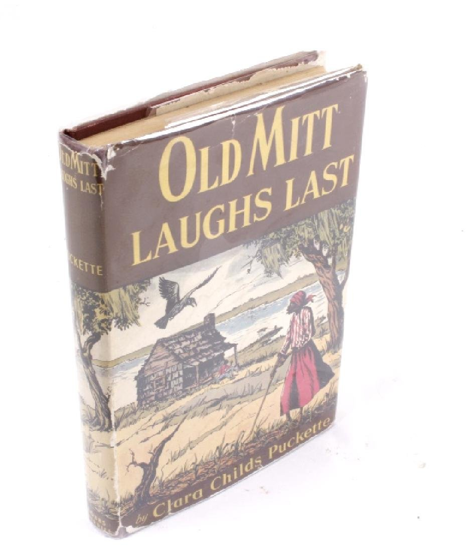 Old Mitt Laughs Last by Puckette 1st Ed circa 1944 - 2