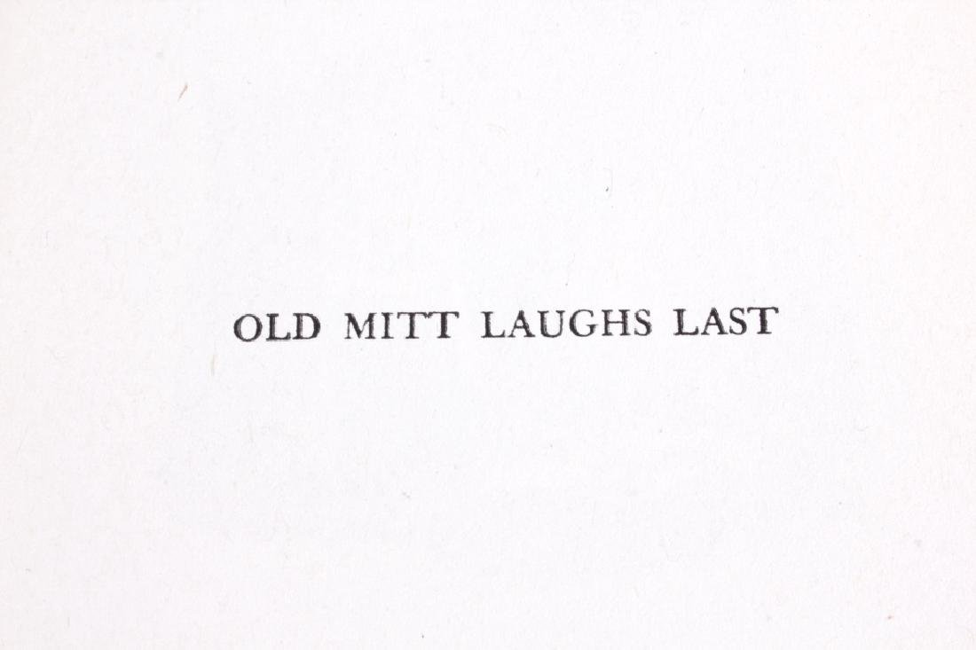 Old Mitt Laughs Last by Puckette 1st Ed circa 1944 - 4