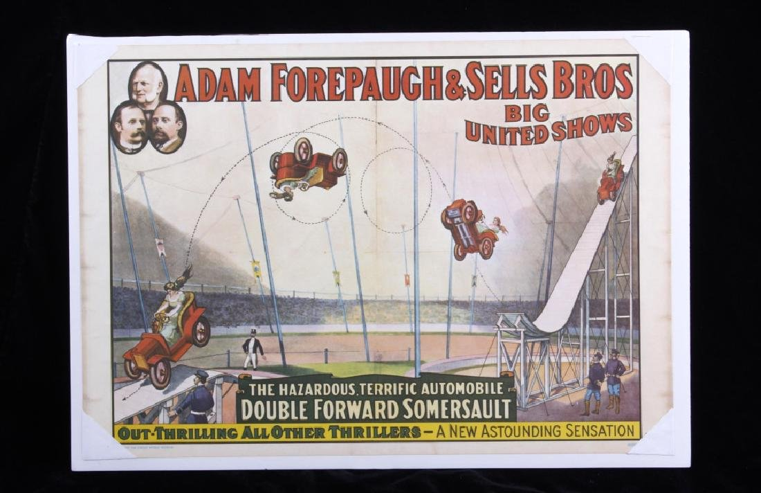 Early Circus Advertising Poster - 6