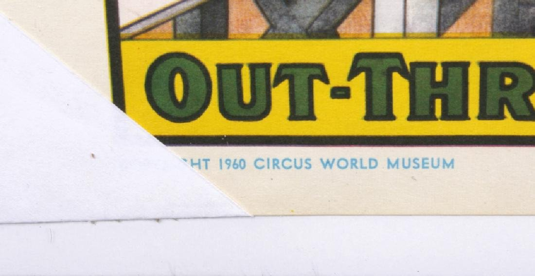 Early Circus Advertising Poster - 7