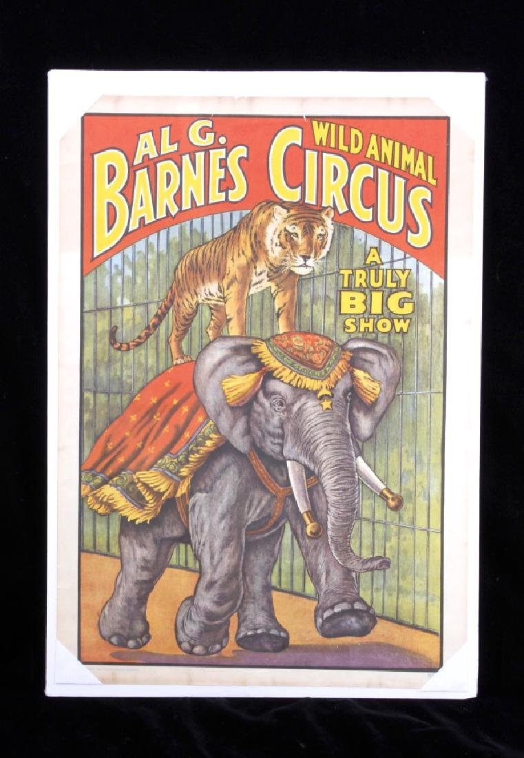 Early Circus Advertising Poster - 8