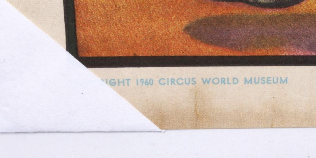 Early Circus Advertising Poster - 9