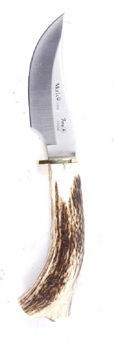 Muela Fury 90064 Stage Antler Handle Knife - 3