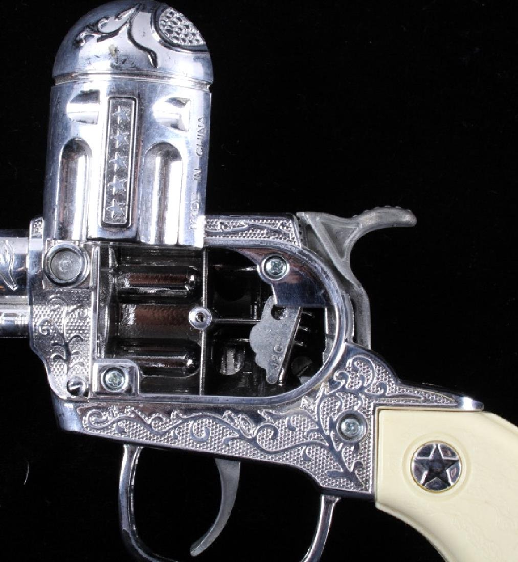 Pair Of Toy Cap Guns With Roll Caps - 9