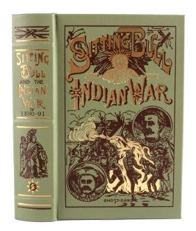 Sitting Bull and the Indian War Leather Bound Book