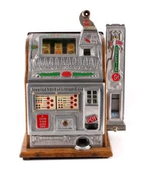 1926 Mills 5¢ Slot Machine & RARE Side Vendor