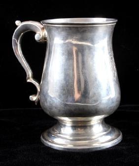 c.1816 Georgian English Sterling Silver Tankard