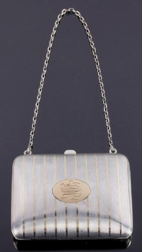 Blackinton 14K Gold & Sterling Silver Coin Purse