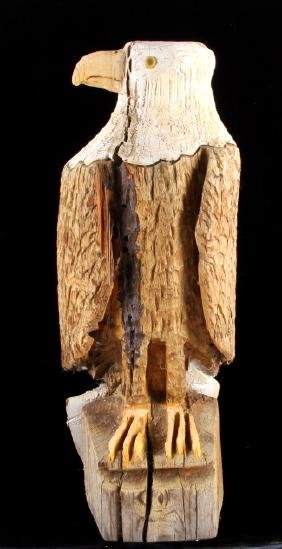 Montana Chainsaw Carved Bald Eagle