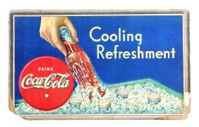 Original 1935 Coca-Cola Advertising Sign