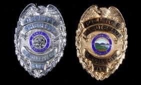 Kansas City, KS Police LT & Sheriff Deputy Badges