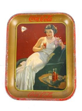 Twin Falls Idaho Coca-Cola Tray 1936