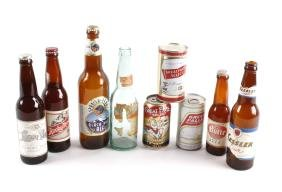 Collection Of Montana Beer Cans & Bottles