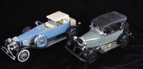 Beam's & Ford Collectors Edition Car Decanters