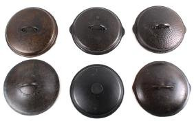 Griswold, Wagner & Other Cast Iron Lid Collection