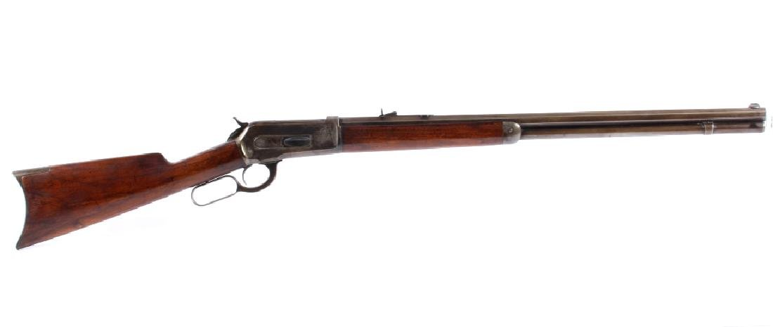 Winchester 1886 From W.F. Sheard Livingston, Mont.