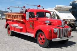 1946 Ford Fire Truck Pumper from Chico Hot Springs