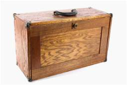 Antique Wooden Machinist Chest