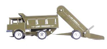Structo Army Engineers Dump Truck  Sand Loader